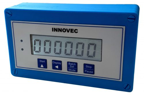 Innovec Controls weatherproof liquid batch controller